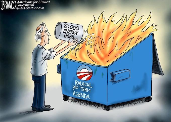 Burning down the economy!