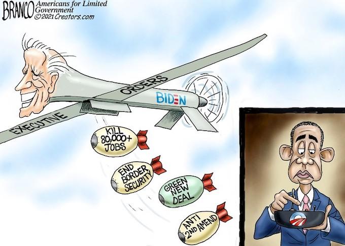 Biden Bombs!