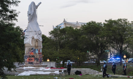 Statues of Columbus, Washington and Lincoln among Lightfoots's list of 40 controversial monuments