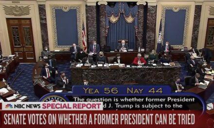 Traitor's caucus? 6 GOP senators join Democrats to vote impeachment of former president 'constitutional'