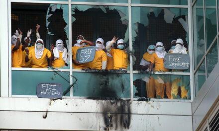 Inmates set fires, smash windows in third St. Louis jail riot since December