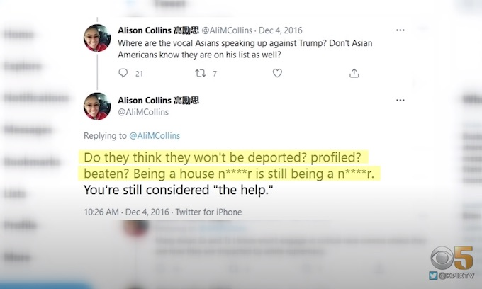 School board member faces calls to resign over anti-Asian slurs in 2016 tweets