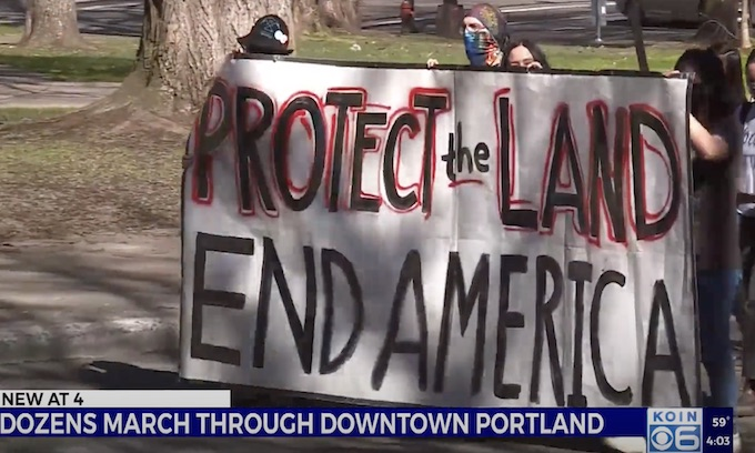Rioters Attack Federal Courthouse In Portland Again