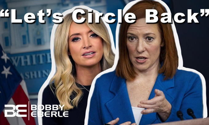 "Circle back on that? Kayleigh McEnany on Jen Psaki's ""go to"" line; Biden is to blame?"