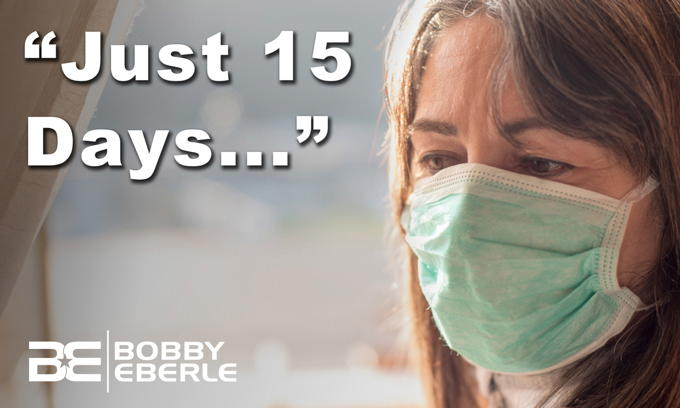 Still locked down? One-year anniversary of '15 days to slow the spread' of coronavirus