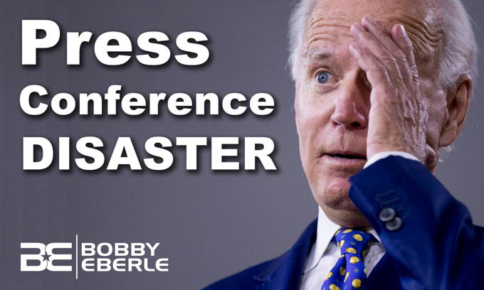 Press Conference DISASTER! Joe Biden says he entered Senate 120 years ago