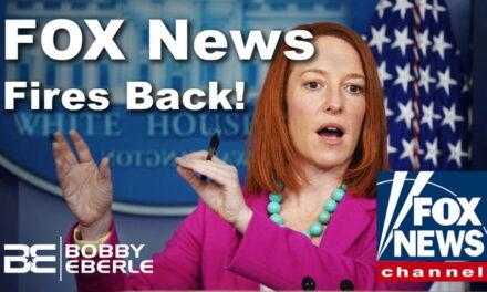 Fox News FIRES BACK after Joe Biden snub; Jen Psaki dodges again