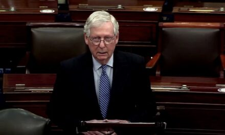 McConnell threatens a 'scorched earth Senate' that Republicans will turn into a 'hundred-car pile-up' if Dems nuke the filibuster