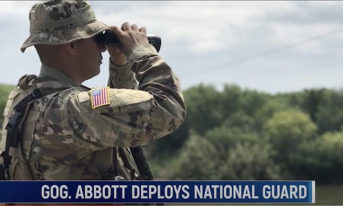 Gov. Abbott Deploys Texas National Guard to Deal with Illegal Immigration Border Crisis