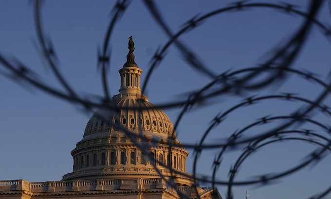 After more than 2 months of 'no credible threat' and pressure from lawmakers, razor wire may begin to disappear from US Capitol