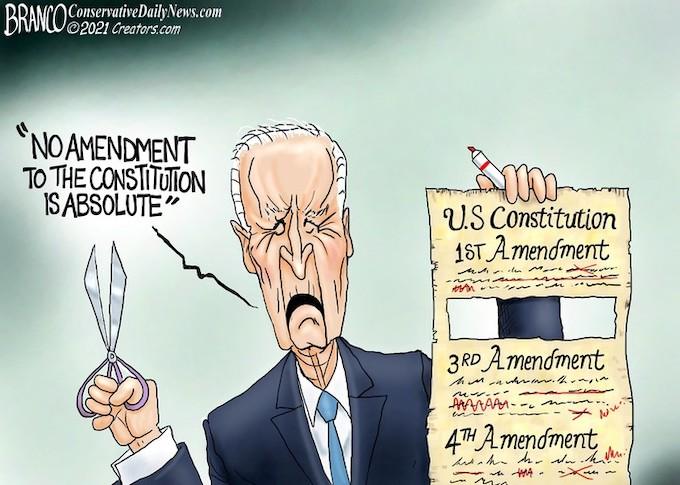 Joe Begins With The 2nd Amendment