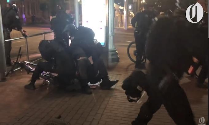 Portland Riots Follow Chauvin Conviction