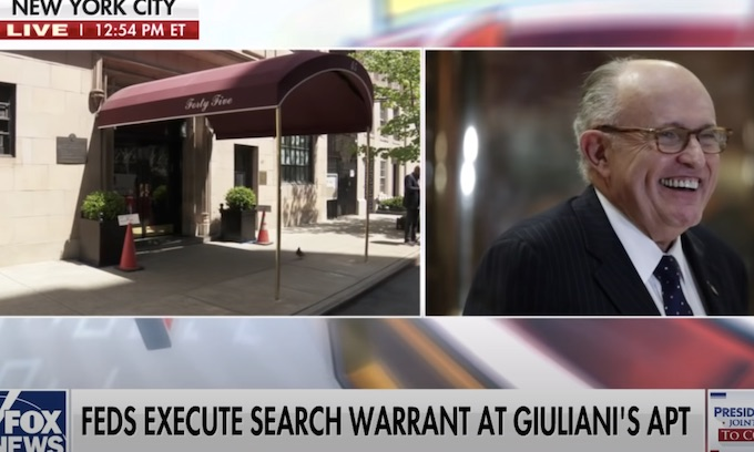 Feds Raid Rudy Giuliani's NYC Apartment