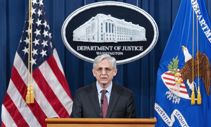 AG Merrick Garland Announces Federal Probe Of Minneapolis PD