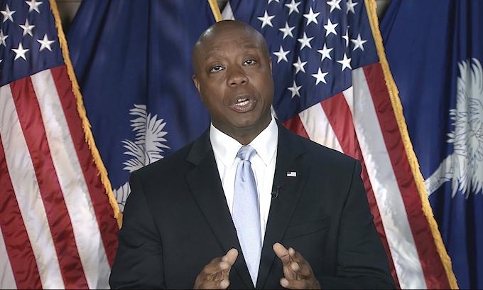 Sen. Tim Scott rebuts Biden speech: Hear me clearly, America is not a racist country