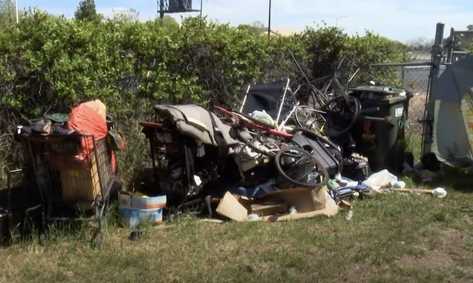 California city paying homeless to clean their campsites