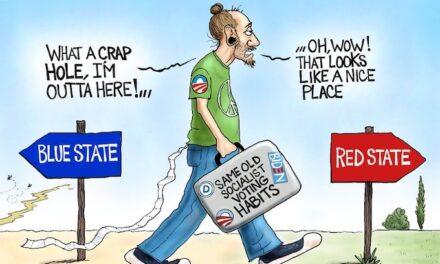 Bringing his baggage
