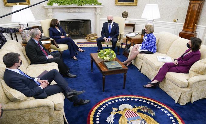 Phony Bipartisanship Advances Biden Agenda