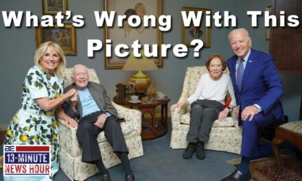 Mixed Message? GIANT Joe Biden Poses 'Mask Free' with 96-year-old Jimmy Carter