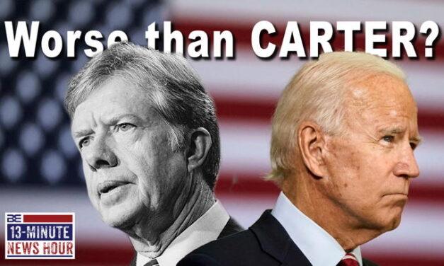 What do you think? Joe Biden… worse than Jimmy Carter?