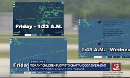 Late-night flights carrying migrant children arrive in Chattanooga