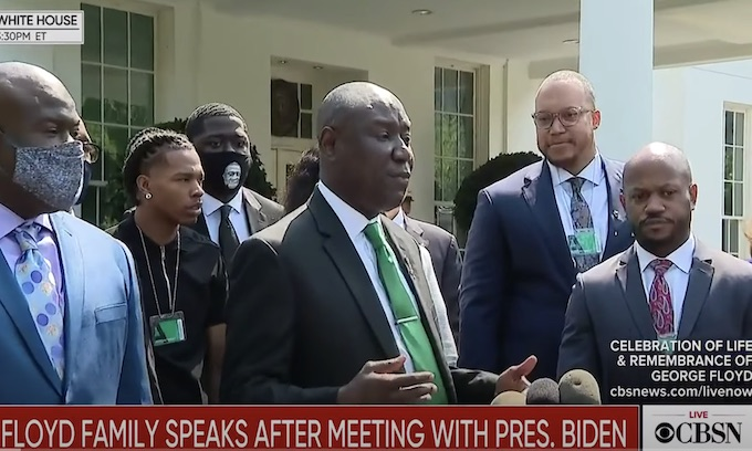 'Today is the day that he set the world in a rage': Floyd family meets Biden as Congress weighs police bill