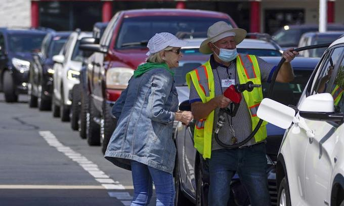 Colonial Pipeline shutdown causes long lines at gas stations