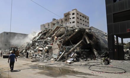 Israeli airstrike destroys Al-Jazeera, AP offices sharing building with Hamas in Gaza