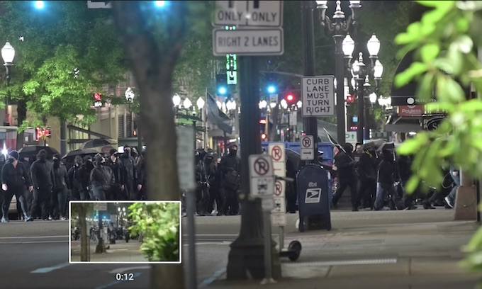 May Day in Portland: 3 Starbucks attacked among other businesses
