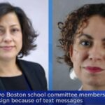 Two Boston school committee members resign over 'westie whites' texts