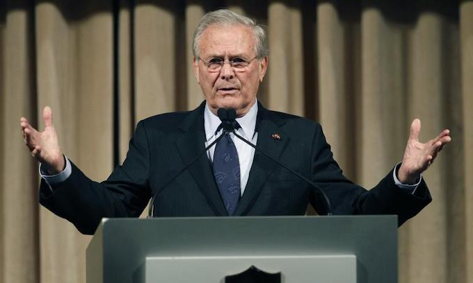 Former Defense Secretary Donald Rumsfeld dies at 88