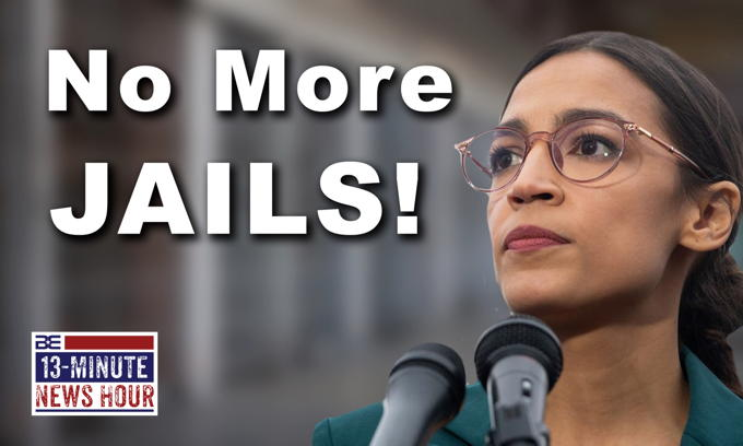 AOC's STUNNING Plan for Reducing Crime: Fewer Jails = Fewer People in Jail?