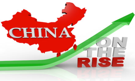 As America Recedes, China Rises