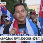 Cuba protesters in Washington want President Biden to do more to pressure the regime