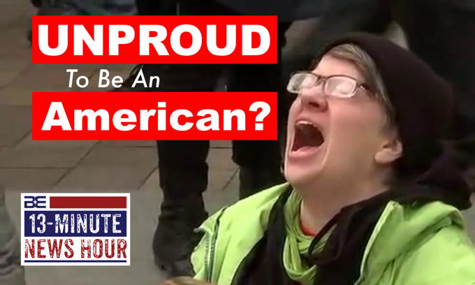 UNPROUD to be an American? Leftists RAGE on 4th of July
