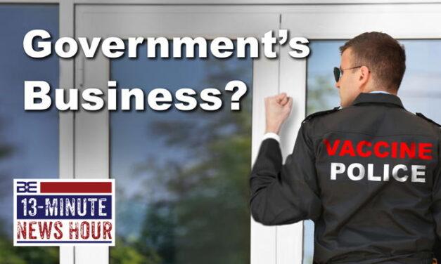 The Government's Business? Biden Pushes Door-to-Door Vaccination Visits