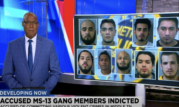 Suspected MS-13 members indicted in Nashville for 'violent crime conspiracy'