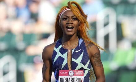Richardson will miss Olympic 100 after failing marijuana test; AOC calls it racist