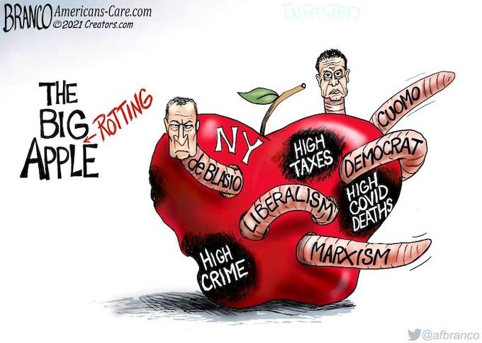 The Democrat's Apple