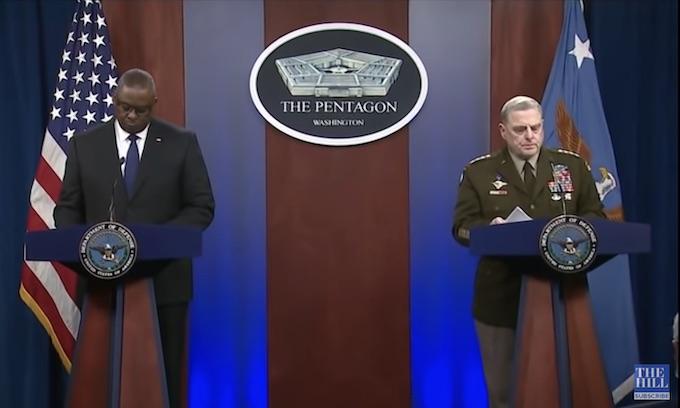 Milley, Austin had no clue; blame Afghan army