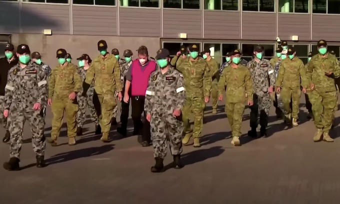 Thousands of police, soldiers enforce Sydney's lockdown