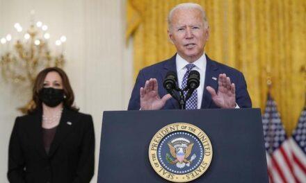 Biden touts progress, makes promises he's unlikely to keep