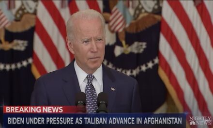 Biden last month: Taliban takeover 'highly unlikely' … it's happening