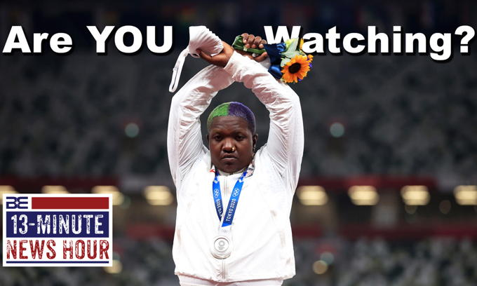 Woke Olympics TANK in the Ratings! Are you watching?