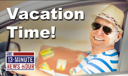 Vacation Time?? Joe Biden Leaves Town as Crises Mount