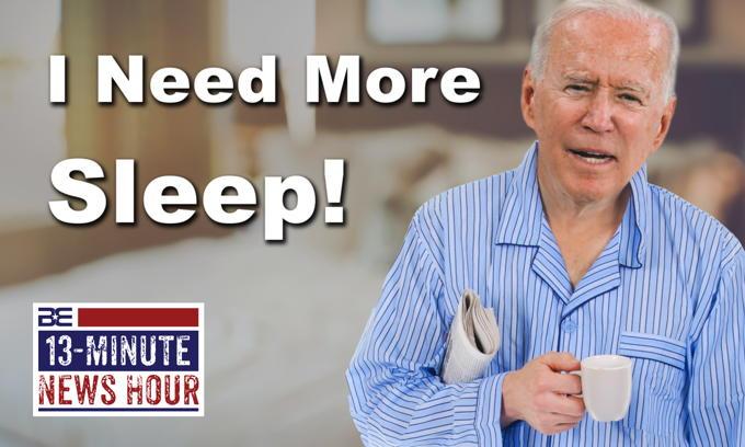 Joe Biden Leaves Town, Says He Needs More Sleep