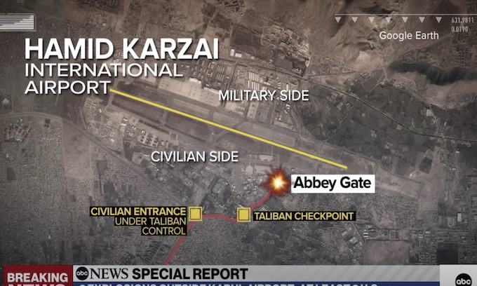 UPDATED: Deaths of US service members killed in Kabul rises; Suicide bombers outside Kabul airport