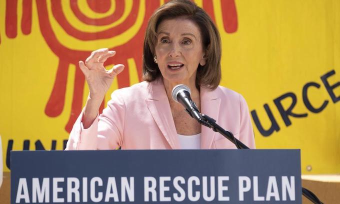 'Moderates' bring House to standstill in Biden budget clash