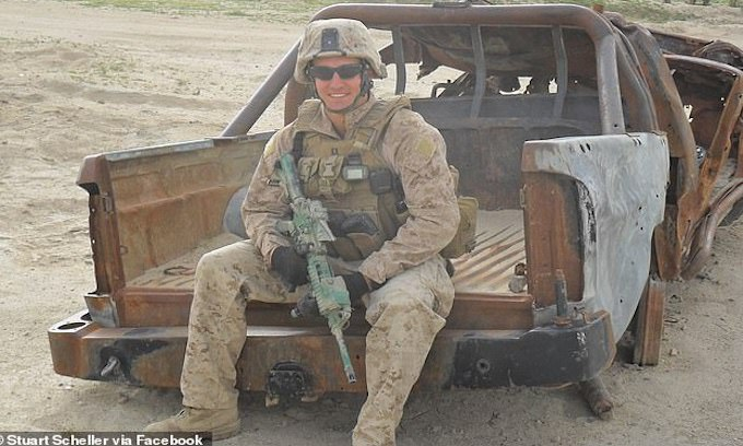 Veterans' Community Rallies Behind Marine Officer Fired for Video Condemning Afghanistan Chaos