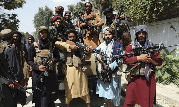 Afghan ally who aided US 'scared' for life, family as Taliban takes over